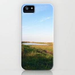 """Afternoon at the Marsh, Tybee Island, Georgia"" by Simple Stylings iPhone Case"