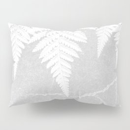 Fern fringe - concrete Pillow Sham