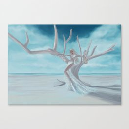 Going with the wind Canvas Print