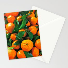 oranges from the grocery store Stationery Cards