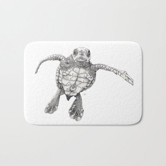 Chelonioidea (the turtle) Bath Mat