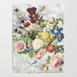 A Flowering Flourish, spring, burgeon, burst! Poster