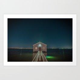 The Boat House 3 Art Print