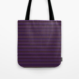 Purple Stripes Tote Bag