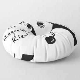 Je ne regrette rien Floor Pillow