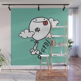 PFFF! Wall Mural