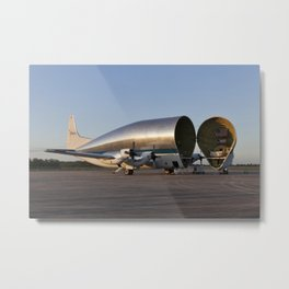 1069. Orion Stage Adapter (OSA) Offload and Transport Metal Print