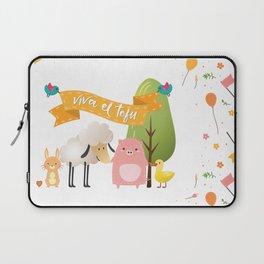 Viva el tofu Laptop Sleeve
