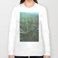 meow Long Sleeve T-shirts featuring MEOW! by LUKE FORSH∆W