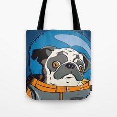 Space Pug Tote Bag