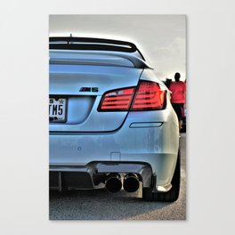 An Additional Car at a Racetrack Canvas Print