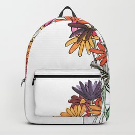 Summer Flowers Backpack