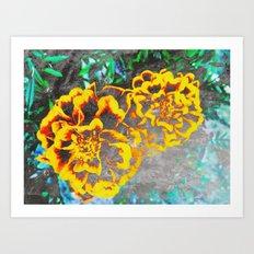 FlowerPower Fantasy 6 Art Print