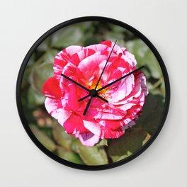 Flower Power 69 Wall Clock