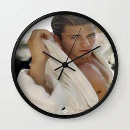 Morning Wood Wall Clock