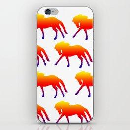 Sunset Horses iPhone Skin