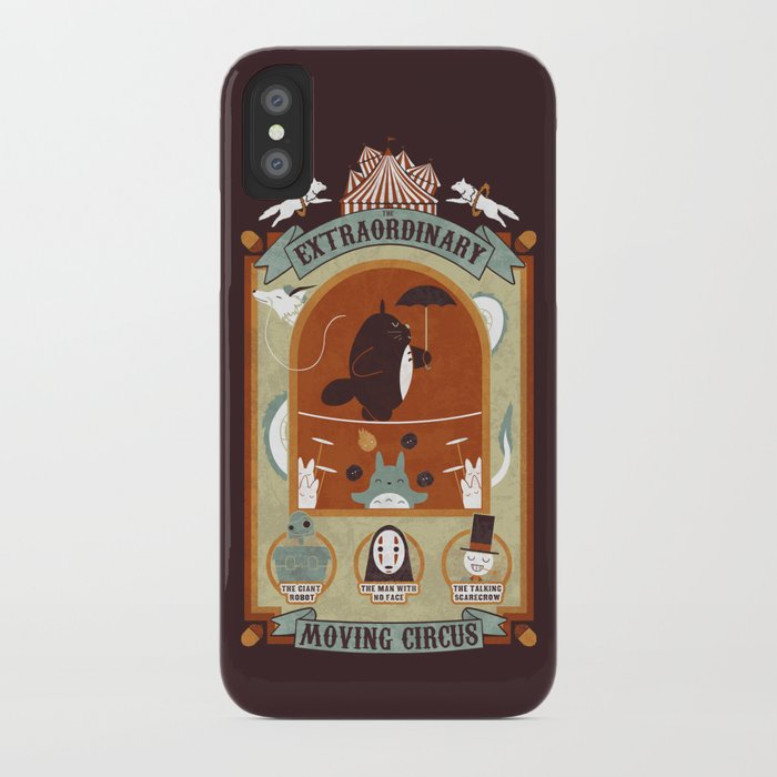 The Moving Circus iPhone Case