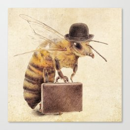 Worker Bee Canvas Print