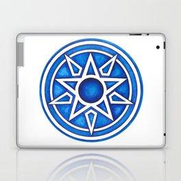 Radial Design Blue No. 3 Laptop & iPad Skin
