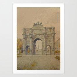 Adolf  Painting siegestoroalarge Art Print