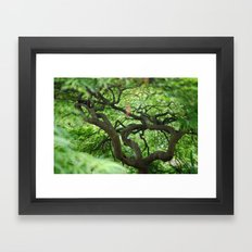 Underneath Framed Art Print