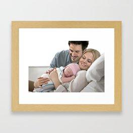 It's a Girl Framed Art Print