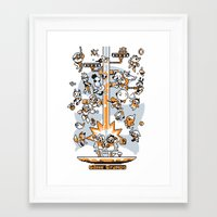 game grumps Framed Art Prints featuring game grumps by Ginseng&Honey