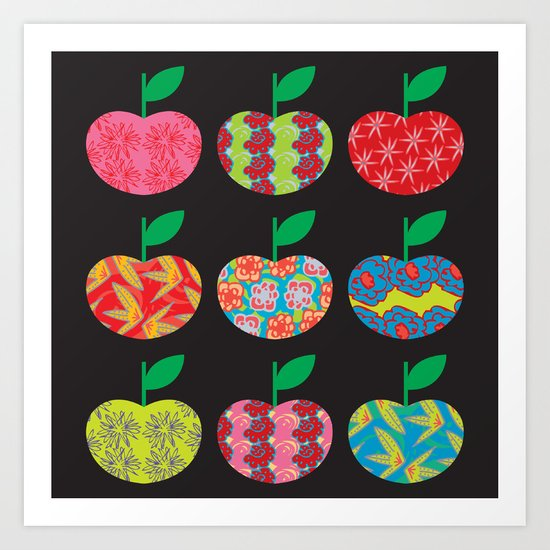 The Apples Art Print