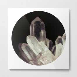 Quartz Crystal Two Metal Print