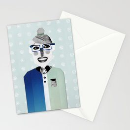 Happy Geek Girl Stationery Cards