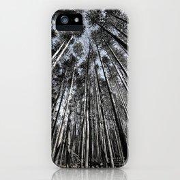 Tall Oaks iPhone Case