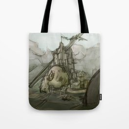 Giant's Crown Tote Bag