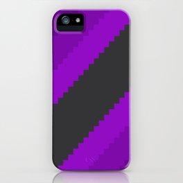 Pixel Grape Juice Dreams - Purple iPhone Case
