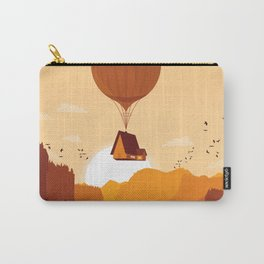 Flying House Carry-All Pouch