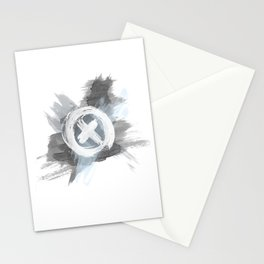 Painted cross Stationery Cards