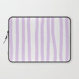 Lavender Stripes Laptop Sleeve