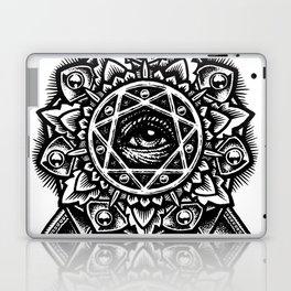 Eye of God Flower Laptop & iPad Skin