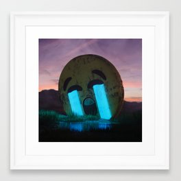 Cry out loud Framed Art Print