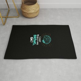 I just really like brains, ok? - Funny Doctor Gifts Rug