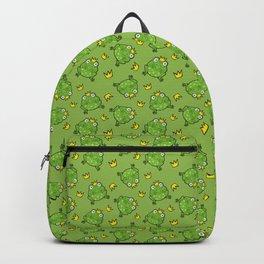 Frog Cartoon Backpack