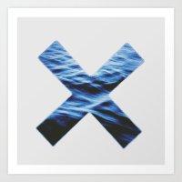 the xx Art Prints featuring XX by Allison Wisdom