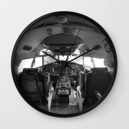 Cockpit Wall Clock