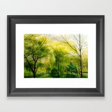 Waiting for Spring Framed Art Print