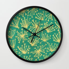 Queen Anne's Lace #3 Wall Clock