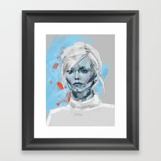 Android 01 Framed Art Print