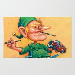 Elf Alexlander - Toys Department Rug