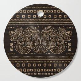 Aztec Double-headed serpent Cutting Board