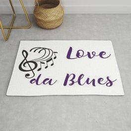 Love da Blues Rug
