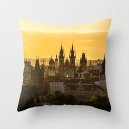 Prague Dawn Throw Pillow
