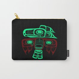Native American style Tlingit Thunderbird Carry-All Pouch